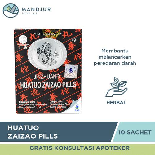 Foto Produk Huatuo Zaizao Pills - Obat Herbal Stroke dari mandjur
