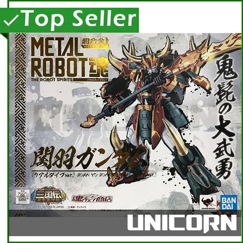Foto Produk METAL ROBOT SPIRIT GUAN YU GUNDAM REAL TYPE VERSION BANDAI dari Unicorn Toys