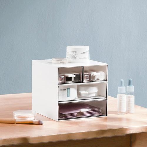 Foto Produk Minimalist 4 Drawer Desktop Cabinet - Tempat Alat Tulis dari Pinkabulous