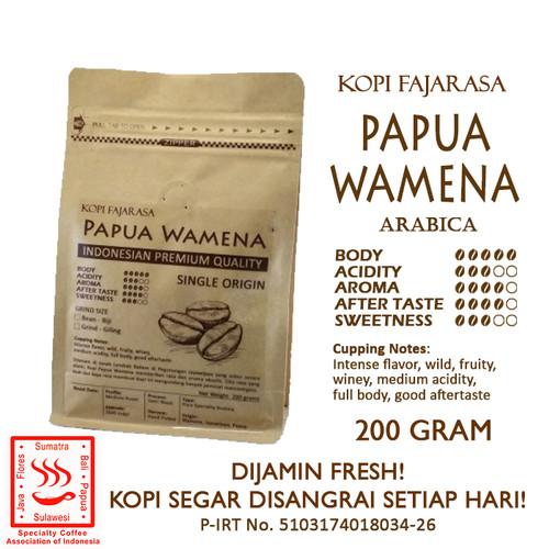 Foto Produk Kopi Fajarasa Papua Wamena Biji Kopi Arabica 200 gram - Bean dari Kopi Jayakarta