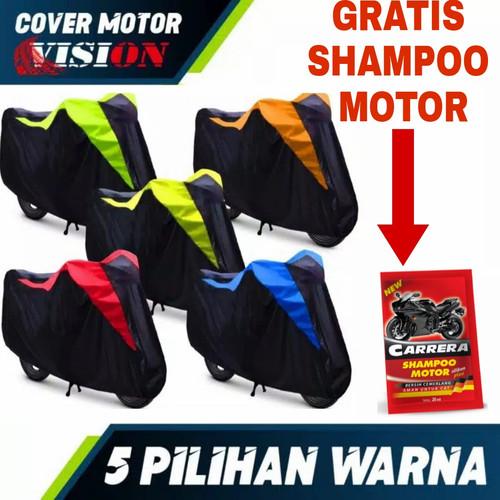 Foto Produk TERMURAH Cover Motor Sarung Motor Anti air Penutup cover motor nmax - Kuning dari Cover Sarung MMB