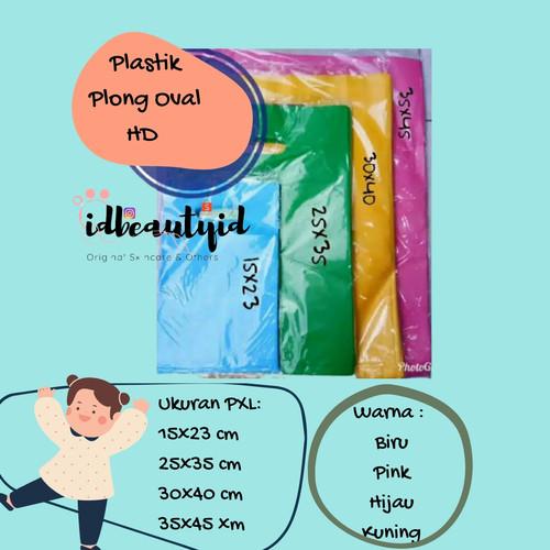 Foto Produk 20x30 cm Plastik Packing (50 pcs) - Plastik Olshop Plastik Plong - Biru dari idbeautyid