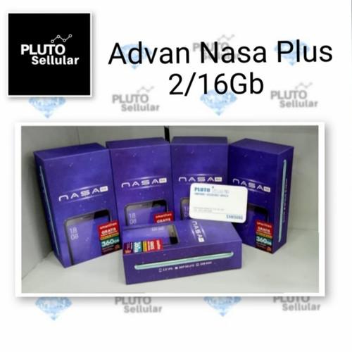 Foto Produk Advan Nasa Plus 2/16Gb - Grs resmi Advan - Hitam dari Pluto sellular