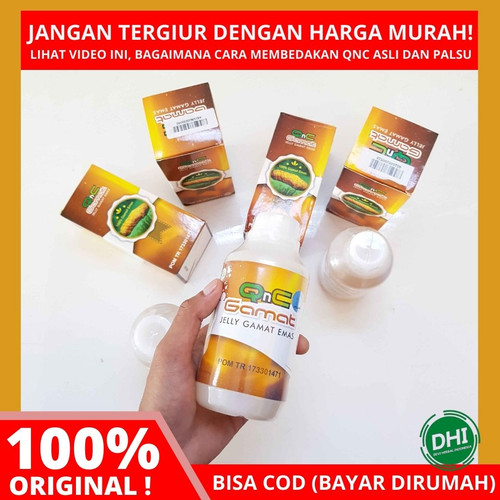 Foto Produk Obat Penghancur Batu Ginjal Alami - QNC Jelly Gamat Original dari Devi Herbal Indonesia