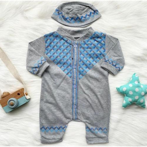 Foto Produk baju bayi laki laki baju muslim koko bayi peci dari babyclothingco