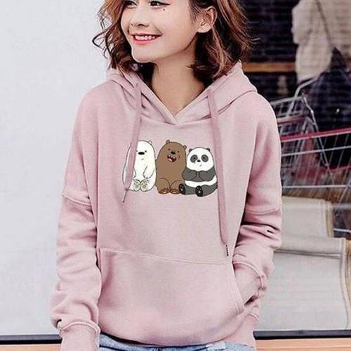 Foto Produk sweater bear hoodie hoody baju wanita anak remaja perempuan cewek dari boutique preloved