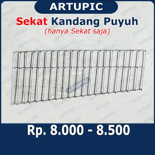Foto Produk SEKAT kandang puyuh HANYA SEKAT SAJA untuk kandang puyuh kawat galvani dari ArtupicPeralatanPeternak