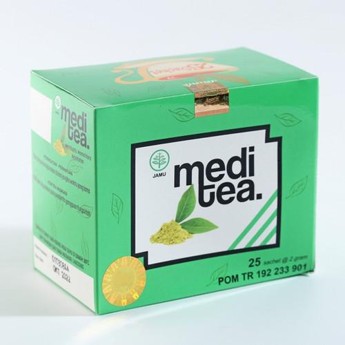 Foto Produk Meditea Teh Hijau untuk mengobati Asam urat dari Mediteaid