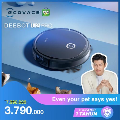 Foto Produk Ecovacs DEEBOT U2 PRO Robot Vacuum Cleaner Mop Vacum Sapu Pel Vakum dari Ecovacs Indonesia