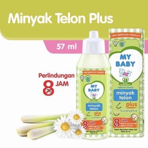 Foto Produk Minyak Telon Bayi My Baby Original 100% - 57 ml - 8 jam dari Habibi Shop 88