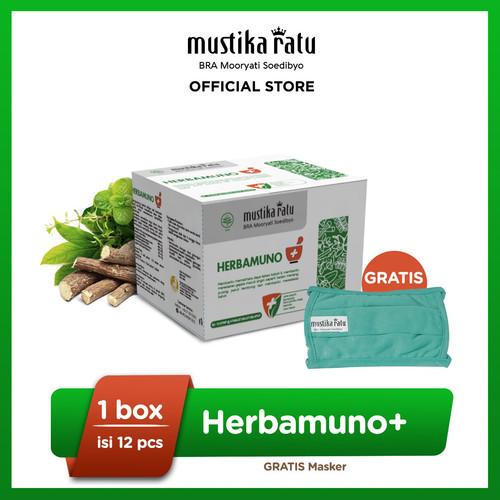 Foto Produk Herbamuno+ Immune Modulator 12 Strip Free Mask dari Mustika Ratu