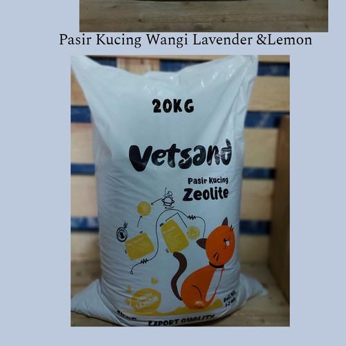 Foto Produk Pasir Kucing Wangi Vetsand 20kg - Wangi Lemon dari EmKStore