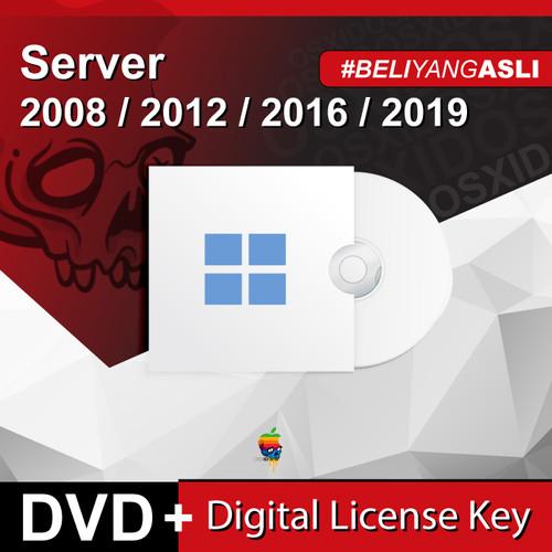 Foto Produk Server 2008/2012/2016/2019 STD Datacenter - Original License - DVD - 2008Standard R2 dari osx.id