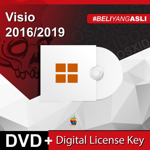 Foto Produk Visio 2016/2019 Pro - Original License - DVD - Visio 2016 Pro dari osx.id