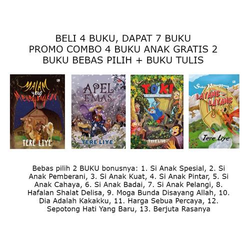 Foto Produk Promo Combo 4 buku Anak Bergambar dapat 7 buku dari tokobukutereliye