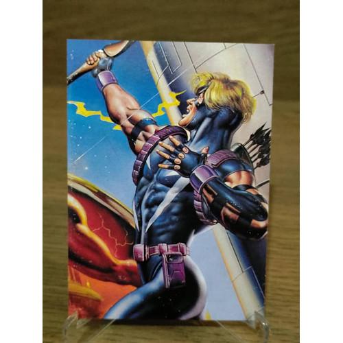 Foto Produk Impact insert DC vs Marvel Hawkeye Emboss trading card dari Charu Toys