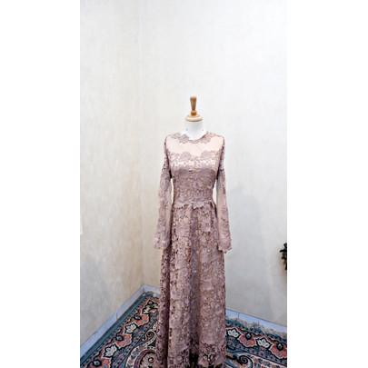 Foto Produk RAMADAN SALE - Dress/Gamis/Baju Pesta/Baju Lebaran R002-40 dari jakahong studio