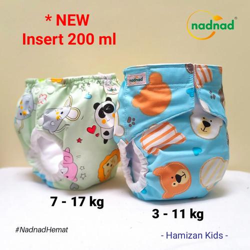 Foto Produk Clodi Nadnad Cover plus Insert / Popok Kain Bayi - Perekat Cewe dari HamizanKids
