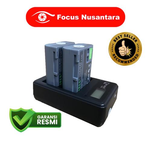 Foto Produk CASELL EN-EL15B Battery Pack (2 Battery + 1 USB Dual Charger) dari Focus Nusantara