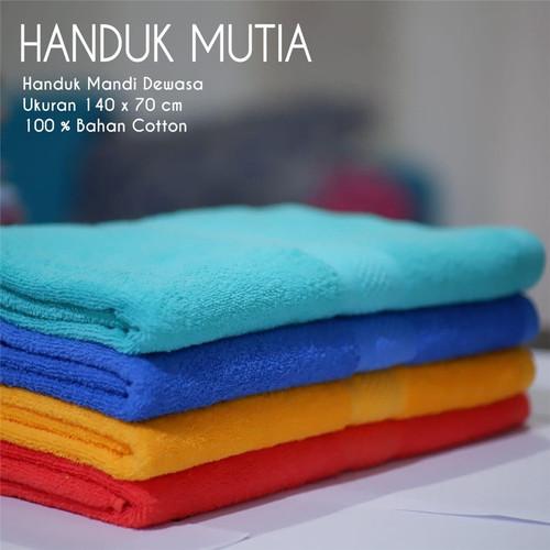 Foto Produk Handuk Mutia Jumbo Katun Ukuran 70x140 Termurah Tebal - Putih dari Prema Store Bandung