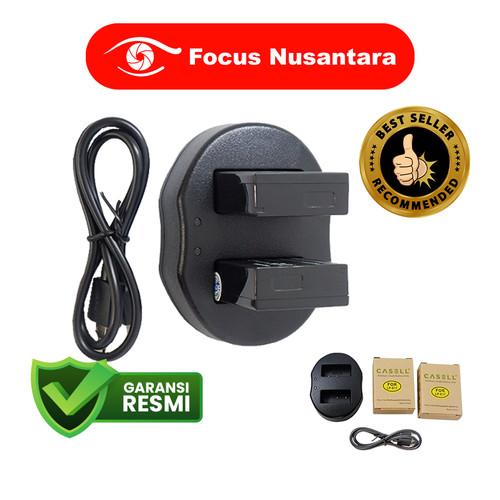 Foto Produk CASSELL LP-E17 Battery Pack (2 Battery + 1 DL USB Dual Charger) dari Focus Nusantara