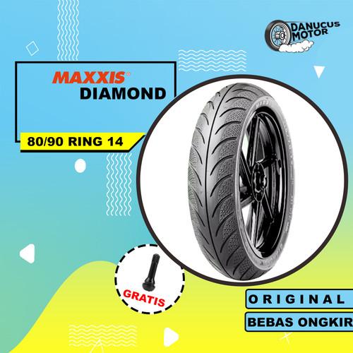 Foto Produk BAN TUBELESS MAXXIS DIAMOND MOTOR MATIC 80/90 RING 14 dari danucusmotor