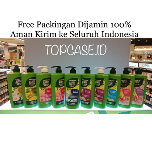 Foto Produk READY 650ml FOLLOW ME GREEN TEA SHAMPOO ANTI HAIR FALL - 6 in 1, 650ml dari Topcase ID