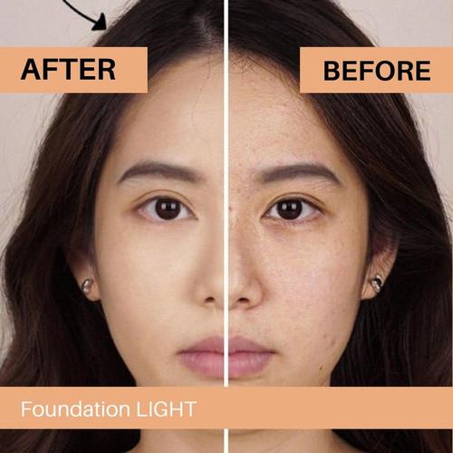 Foto Produk Lumecolors HD Full Coverage Ultra Lightweight Foundation ORIGINAL BPOM - LIGHT dari koreangrosircom