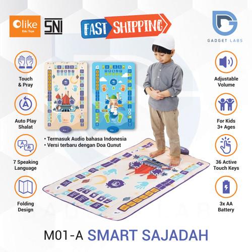 Foto Produk OLIKE Smart Sajadah Anak / Sajadah Pintar Garansi Resmi OLIKE - Ungu dari Gadget Labs