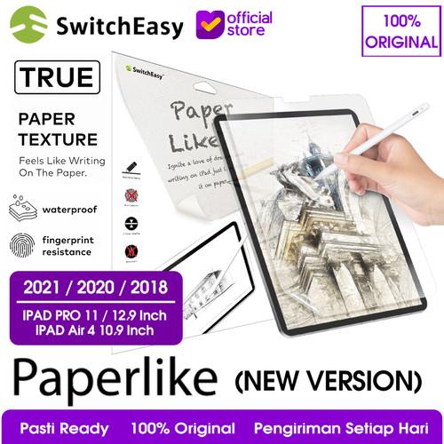 Foto Produk Anti Gores Paperlike iPad Pro 11 & 12.9 (2020 / 2018) SwitchEasy - iPad Pro 12.9 dari SwitchEasy Official