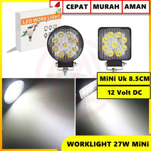 Foto Produk WORKLIGHT LAMPU TEMBAK MOBIL LED 27 WATT HIGH QUALITY - BULAT dari Modifikasi Market