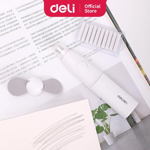 Foto Produk Deli 71093 electric eraser white with fan dari Deli Stationery