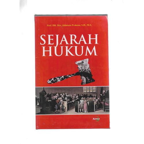 Foto Produk SEJARAH HUKUM-AWJ -UR dari Toko Buku Uranus