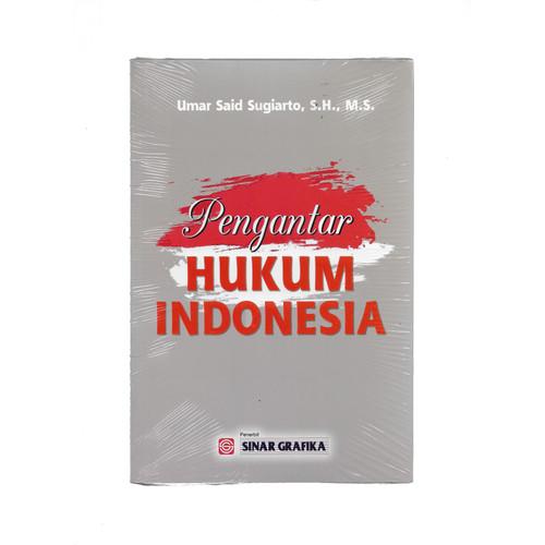 Foto Produk PENGANTAR HUKUM INDONESIA-SG UMAR SAID -UR dari Toko Buku Uranus