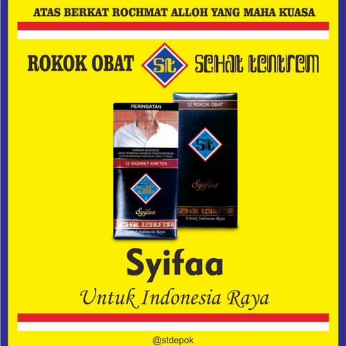Foto Produk SYIFAA ST (Bungkus) dari Sehat Tentrem Untuk Indonesia Raya