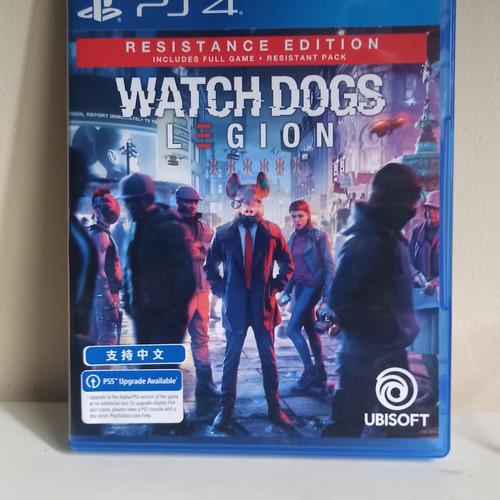 Foto Produk Watch Dog Legion PS4 Reg 3 Bekas dari Maniac Bola
