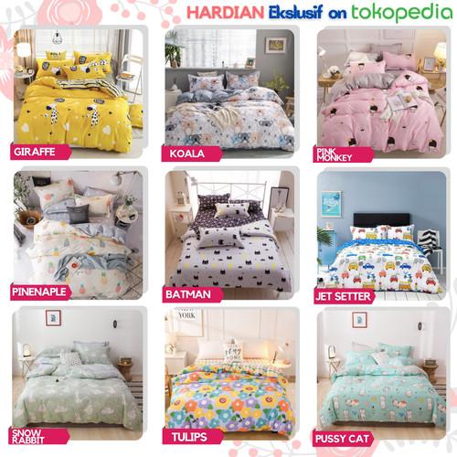 Foto Produk Bedcover Bad Cover Set Katun 90x200 120x200 160x200 180x200 200x200 - Giraffe, 90x200T20 dari Sprei Hardian