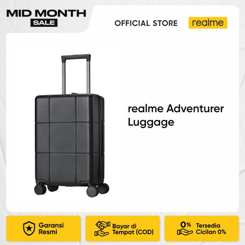 Foto Produk realme Adventurer Luggage - Hitam dari realme Official Store