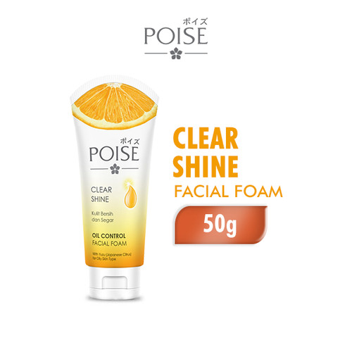 Foto Produk Poise Facial Foam Clear Shine 50 gr dari Wings Official Store