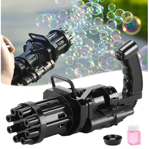 Foto Produk Gatling Bubble Gun Pistol Gatling Bubble Gun Toys Gatling Bubble Mesin - Hitam dari Three Acc