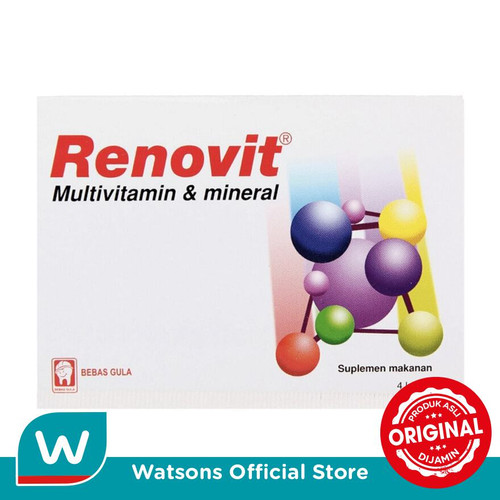 Foto Produk Renovit Multivitamin 25 X 4s dari Watsons Indonesia