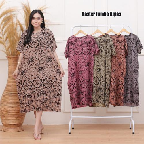 Foto Produk Daster Jumbo Big size Kancing depan dari Zaada Batik