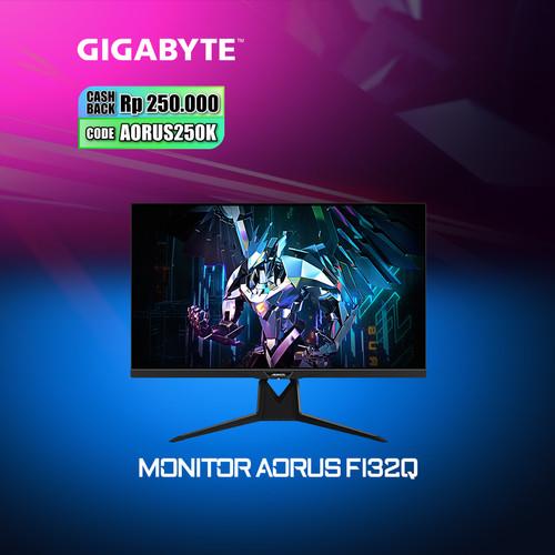 Foto Produk Gigabyte AORUS FI32Q Gaming Monitor dari Myclub