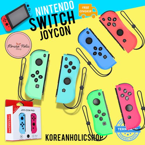 Foto Produk Curved Joycon / joystick /joystik Nintendo Switch 100% MIRIP ORIGINAL - Animal Crossing dari Koreanholicshop