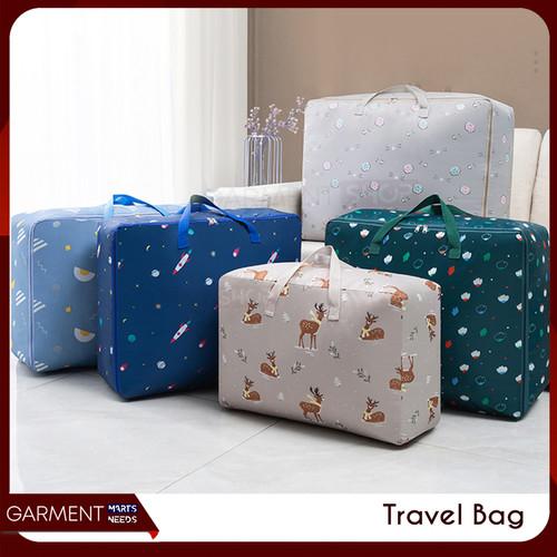Foto Produk Travel Bag Jumbo Tas Lipat Selimut Hand Carry Anti Air Waterproof Wani - RANDOM, Besar dari Garment Needs