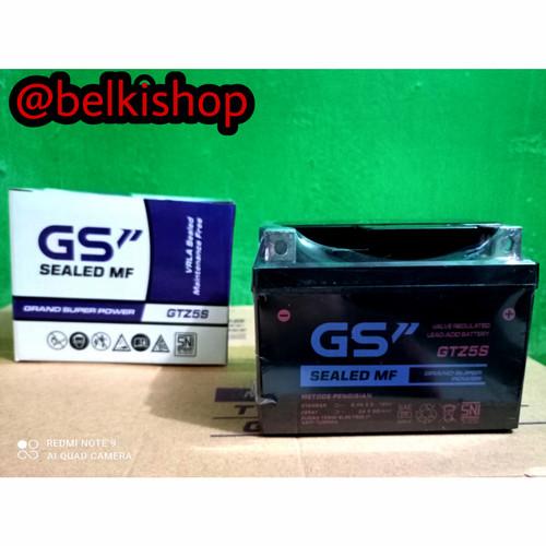 Foto Produk Aki Motor Beat,Vario 110,Revo,Fino,Mio Soul GT GS GTZ5S MF dari belki shop