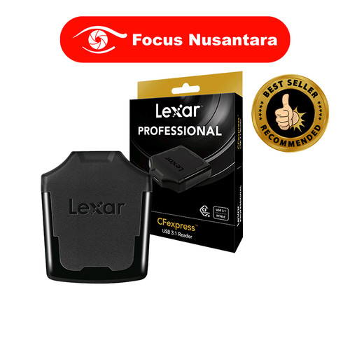 Foto Produk LEXAR LRWCFXRB CFexpress TypeC USB 3.1 Card Reader dari Focus Nusantara