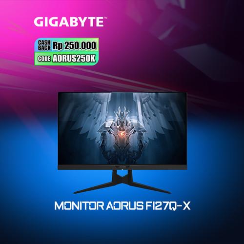 Foto Produk Gigabyte AORUS FI27Q-X Gaming Monitor dari Myclub