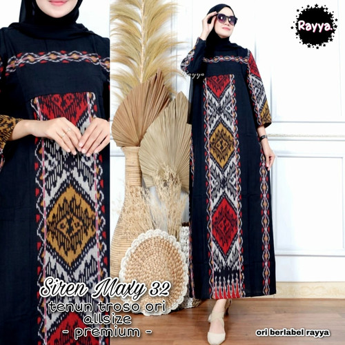 Foto Produk blouse maxy tenun ori dari Jivan Batik