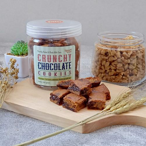 Foto Produk Crunchy Dark Chocolate Cookies Square O'kies dari Square O'kies